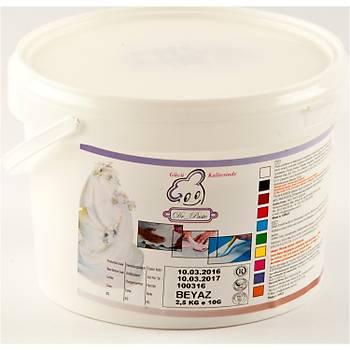 Dr Paste Beyaz Seker Hamuru 2500 gr