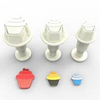 Cupcake Minik Enjektörlü Kopat
