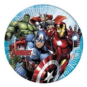 Avengers Multi Heroes Parti Tabaklarý 23cm 8adet