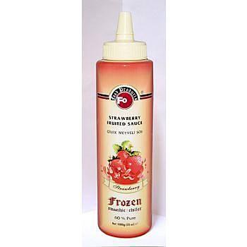 Fo Çilek Meyveli Sos (Frozen) (%60 Çilek) (6x1) 1 Kg