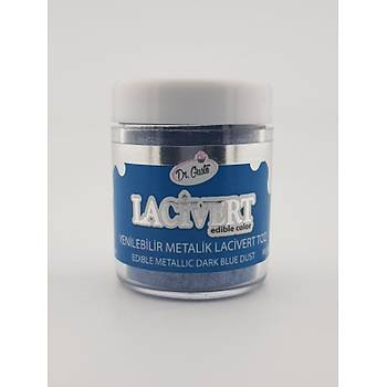 Yenilebilir Metalik Lacivert Toz Boya 10 gr