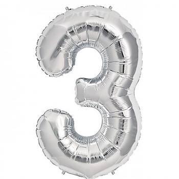 3 Yaþ Gümüþ Balon