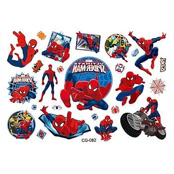 Spiderman Sticker Baský