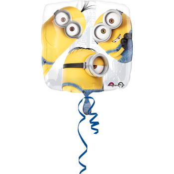 Minions Kare Folyo Balon