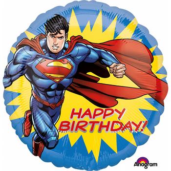 Superman Happy Birthday Folyo Balon