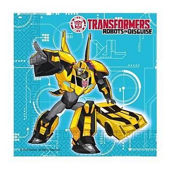 Transformers Peçete 20 ad