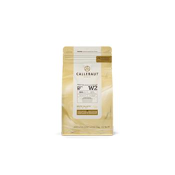 Callebaut Beyaz Pul Çikolata 1KG %28