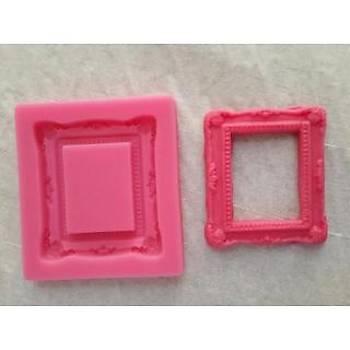 Minik  Kare  Çerçeve silikon