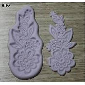 Çiçekli Dantel  Pasta Bordürü