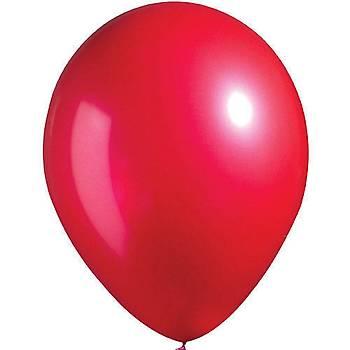 Metalize Kýrmýzý  Balon 5 ad.