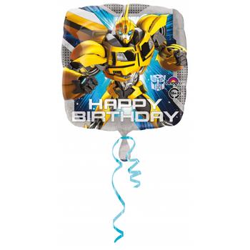 Transformers Happy Birthday Folyo Balon