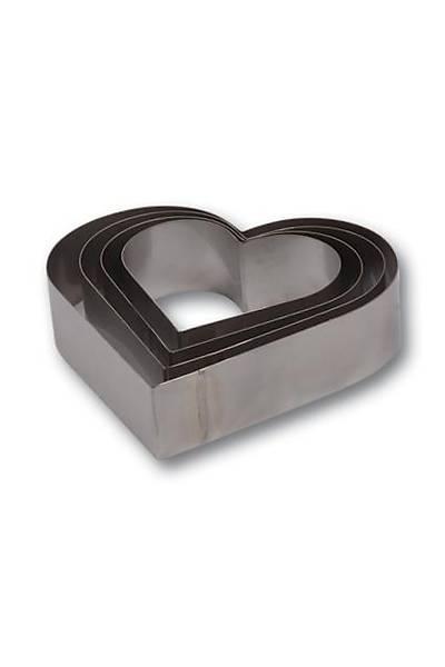 Kalp Çember Set 4 Boy H 6 cm