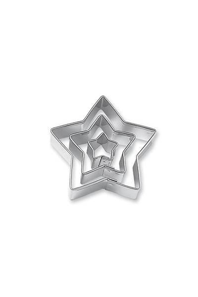 Metal Yıldız Kupat Set 3 Boy