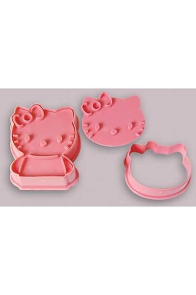 Plastik Hello Kitty Kesme Kalıbı