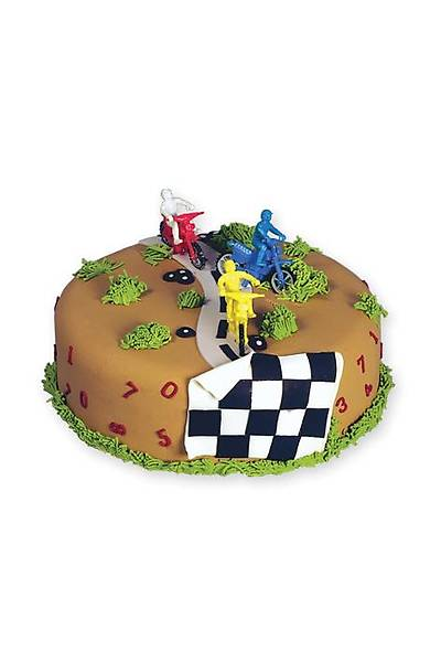 Motokros Pasta Oyuncağı