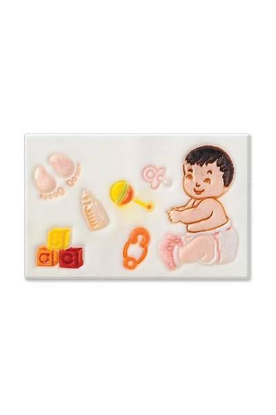 Bebek Figürlü Pasta Kalıbı