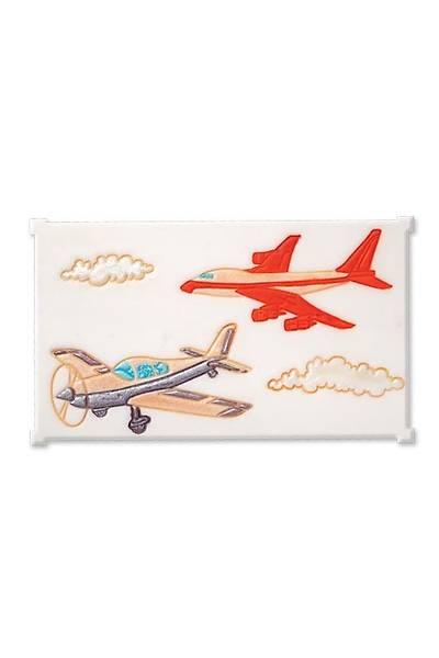 Uçak Figürlü Pasta Kalıbı