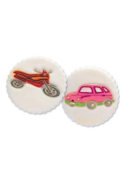 Araba Motorsiklet Pasta Kalıbı