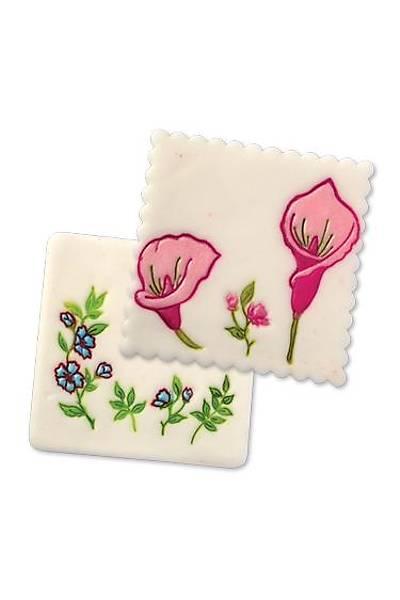 Çiçek Figürlü Pasta Kalıbı