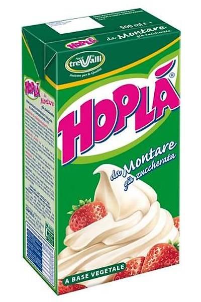 Hopla Şekersiz Sıvı Şanti Krema 12 Adet