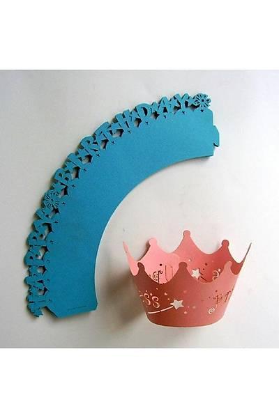 Happy Birthday Cupcake Süsleme / 10 ADET