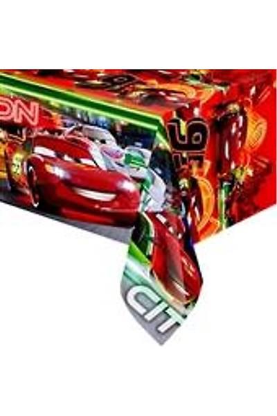 Cars Neon  Dogum Gunu Masa Örtüsü