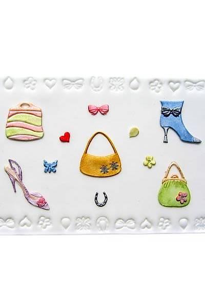 Çanta ayakkabý Figürlü Patchwork