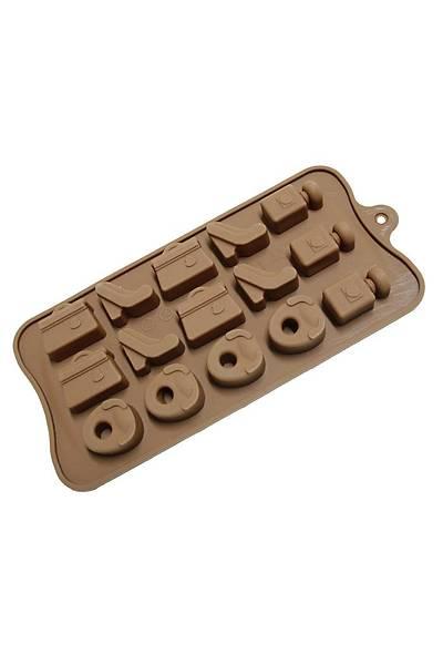 Ayakkabý çanta çikolata kalýbý