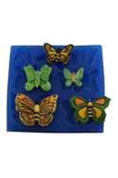 Minik Kelebekler Silikon