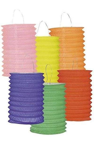 Renkli Uzun Parti Feneri