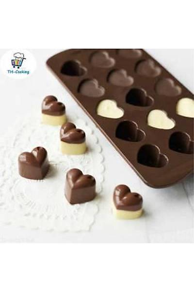 Kalp Çikolata Kalıbı