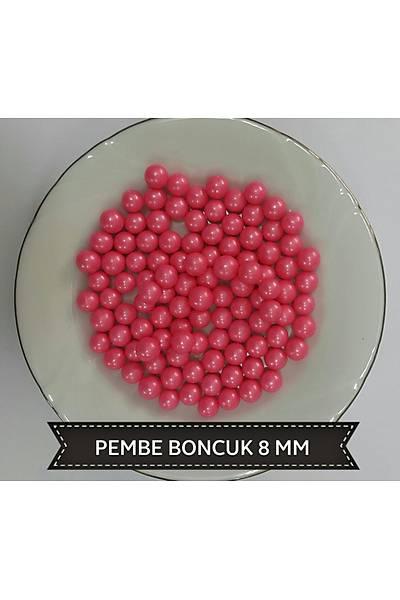 Pembe 8 mm Boncuk Sprinkles 40 gr.