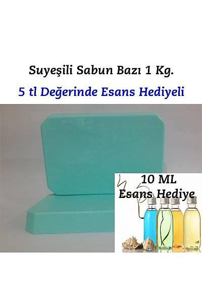 Su Yeşili Sabun Bazı 1kg