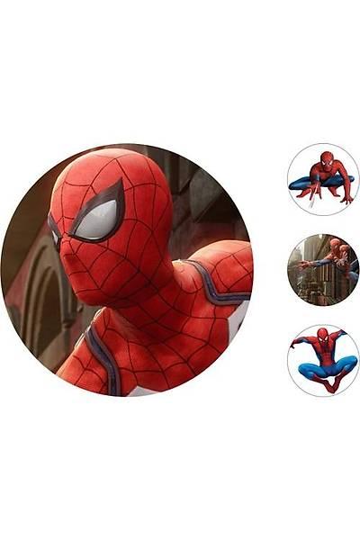 Spiderman Pasta Kurabiye Üstü Resim