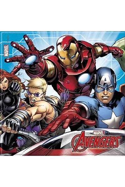 Avengers Süper Kahramanlar Doðum günü Peçetesi 20 li