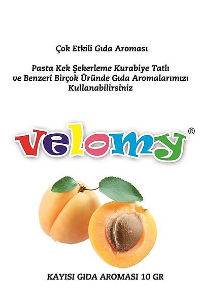 Velomy Kayısı Aroma Vericisi 10 Gr.