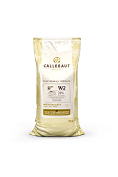 Callebaut Beyaz Drop Çİkolata 10kg %25.9 Kakao Oranı