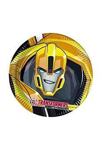 Transformers Karton Tabak  8adet