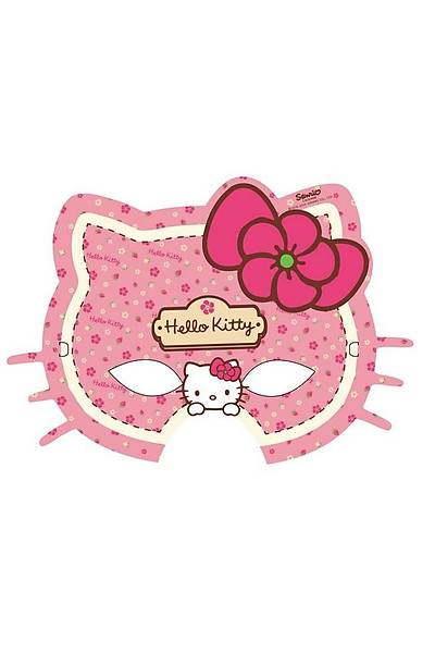 Hello Kitty  Maske 6 adet