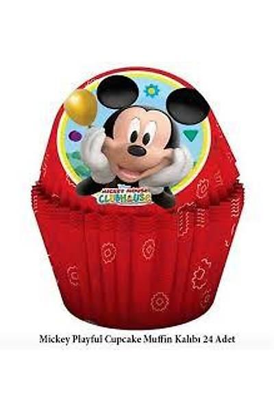 Mickey Mouse Cupcake Kaðýdý 24 Ad
