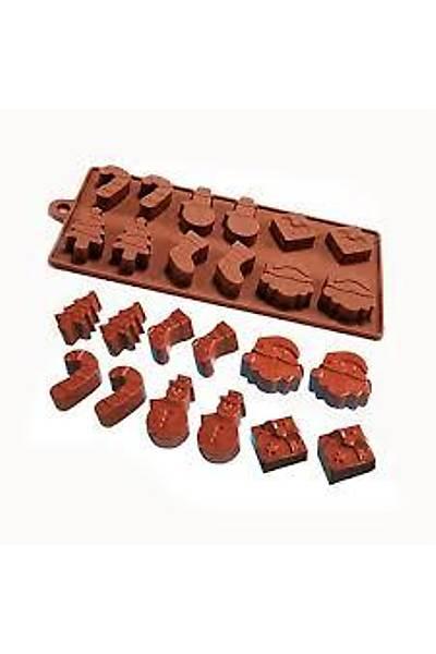 Yılbaşı Çikolata Kalıbı