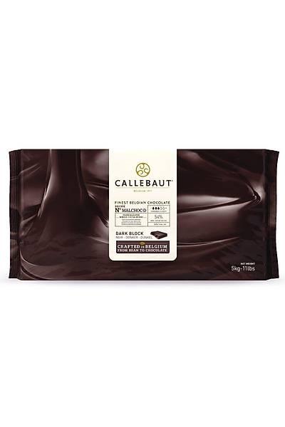 Callebaut Bitter Kuvertur Çikolata 5 Kg %54.5