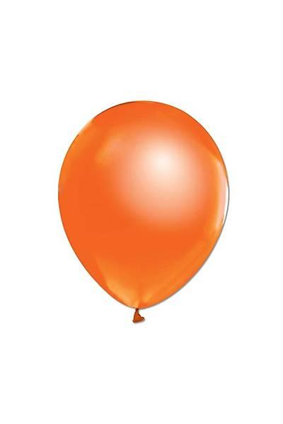Metalik Turuncu Balon