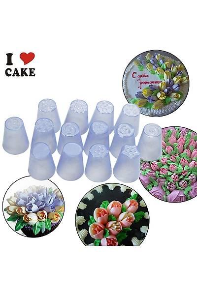 Plastik Rus Çiçek Duyu no9