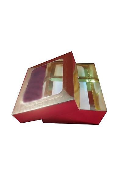 Altýn Gold  Makaron Kurabiye Kutusu 15x12x5cm