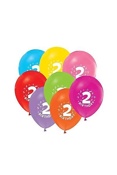 2 Yaþ Mavi Balon