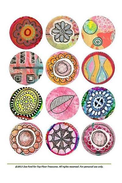 Desenler1 Cupcake ve Kurabiye  Baský