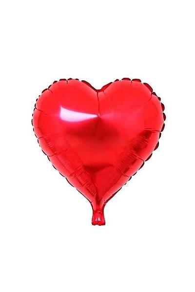 Kýrmýzý Kalp Folyo Balon 40 cm