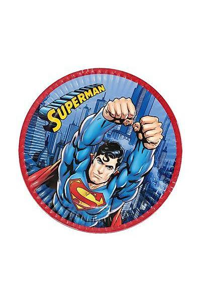 Superman Karton Tabak 8 adet