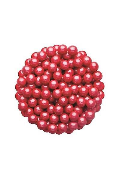 Bordo 8 mm Boncuk Sprinkles 40 gr.